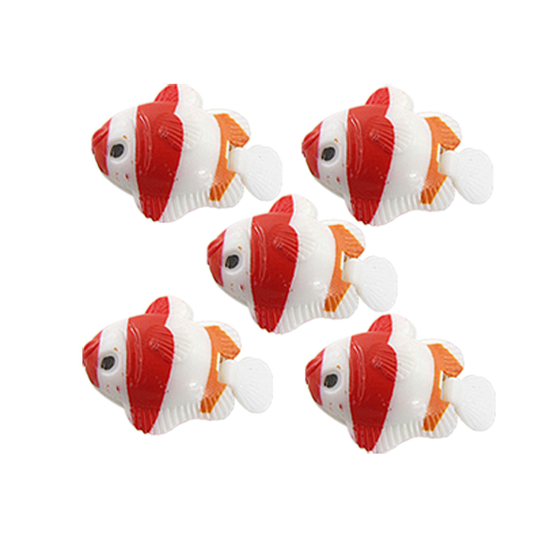 5 PCS Aquarium Plastic Floating Fish Tank Ornamental Fish