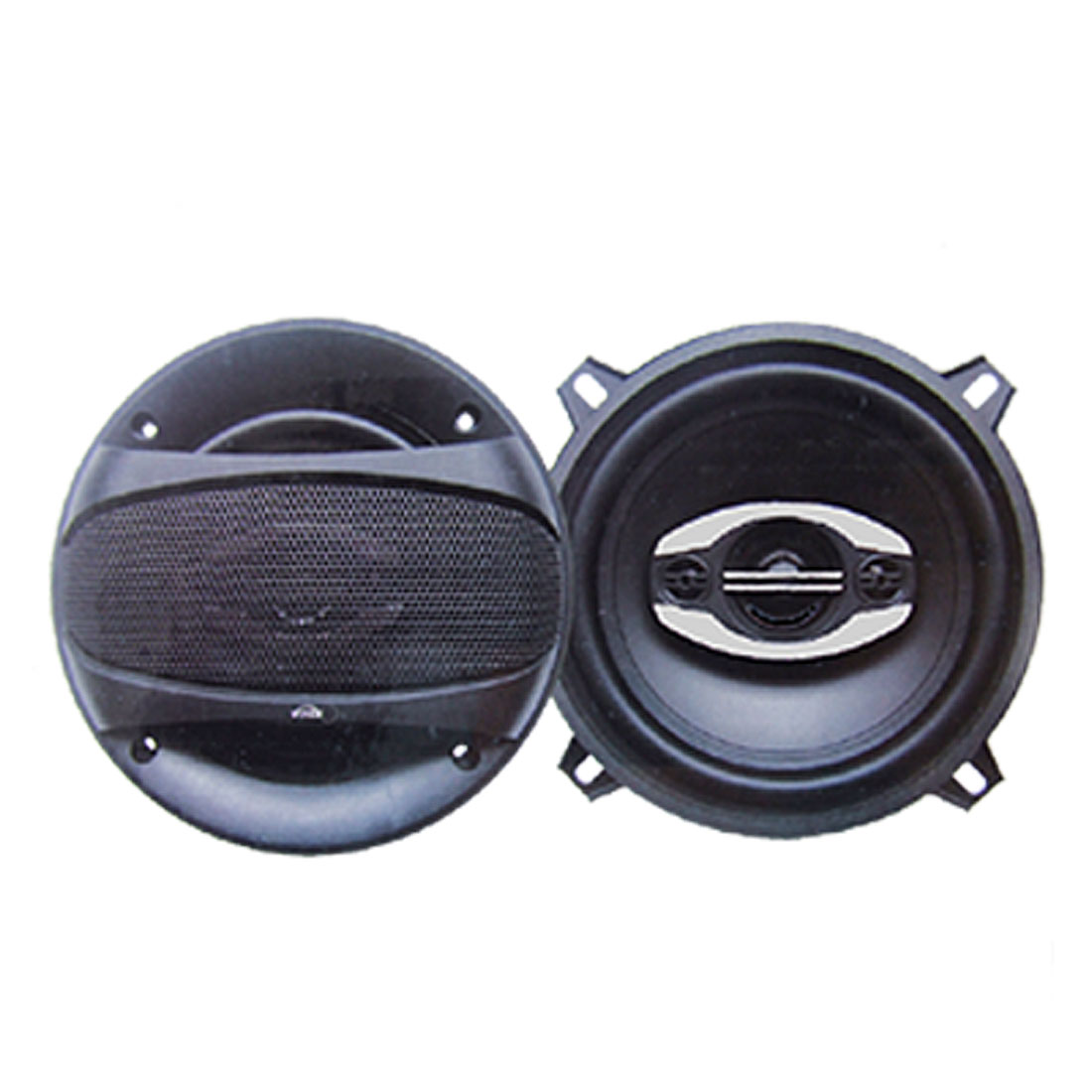 30 Watt 2 Way Black Car Auto Stereo Audio System Speakers 2 PCS