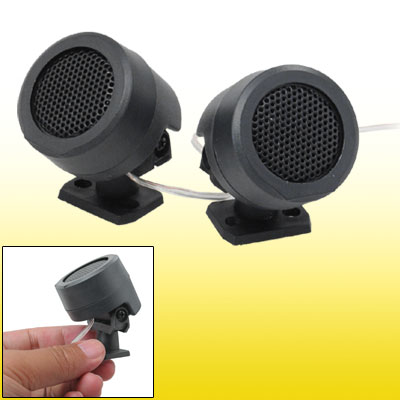 2 PCS 500 Watt Dome Car Tweeters Stereo Audio Speakers