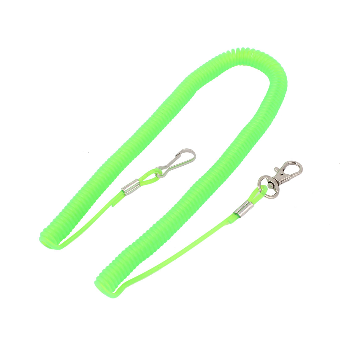 Green Spring Plastic Rope for Dropping Avoiding
