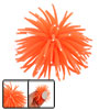 Mini Orange Silicone Sea Anemone Aquarium Fish Tank Ornament