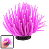 Aquarium Fish Tank Silicone Sea Anemone Decor Ornament Purple
