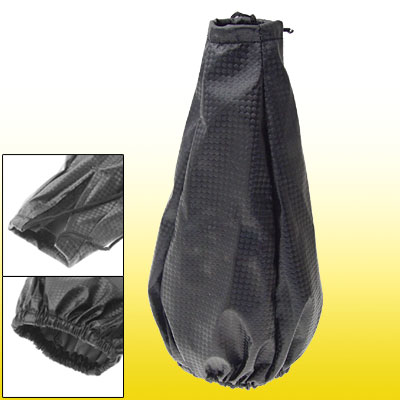 Black Elastic Soft Car Automatic Shift Knob Cover