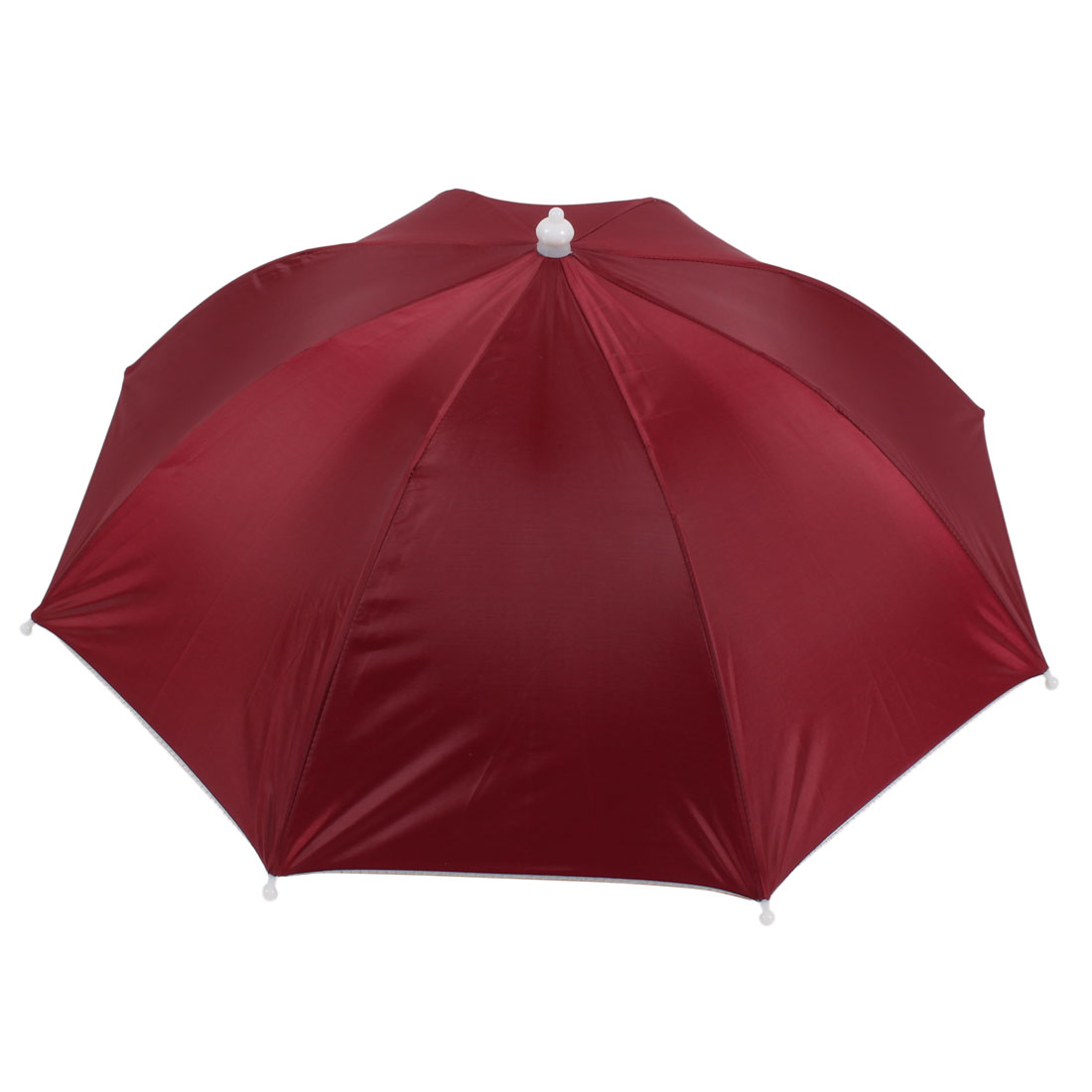 Red Umbrella Hat Golf Fishing Camping Headwear Cap
