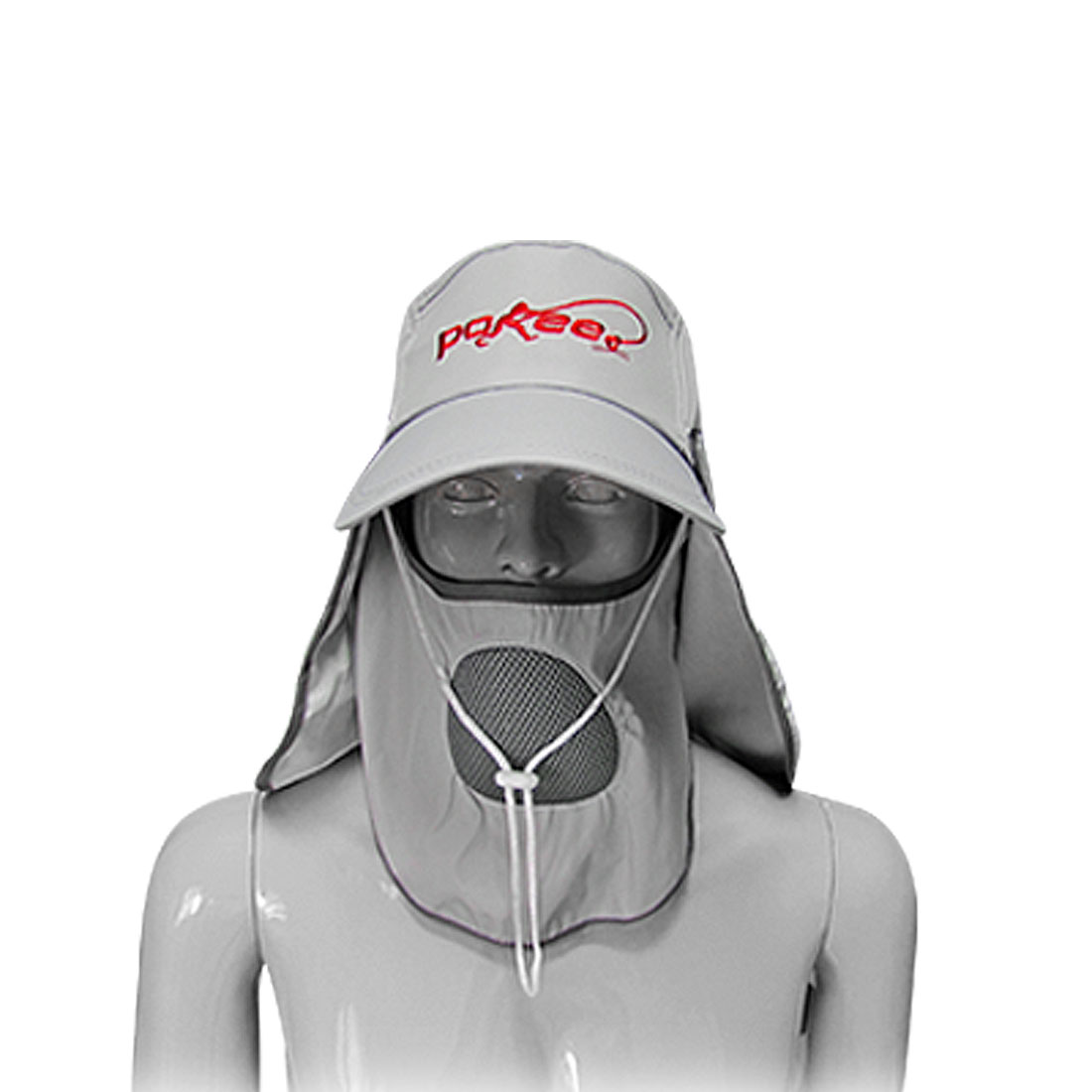 Fishing Cap Front Back Hooded Detachable
