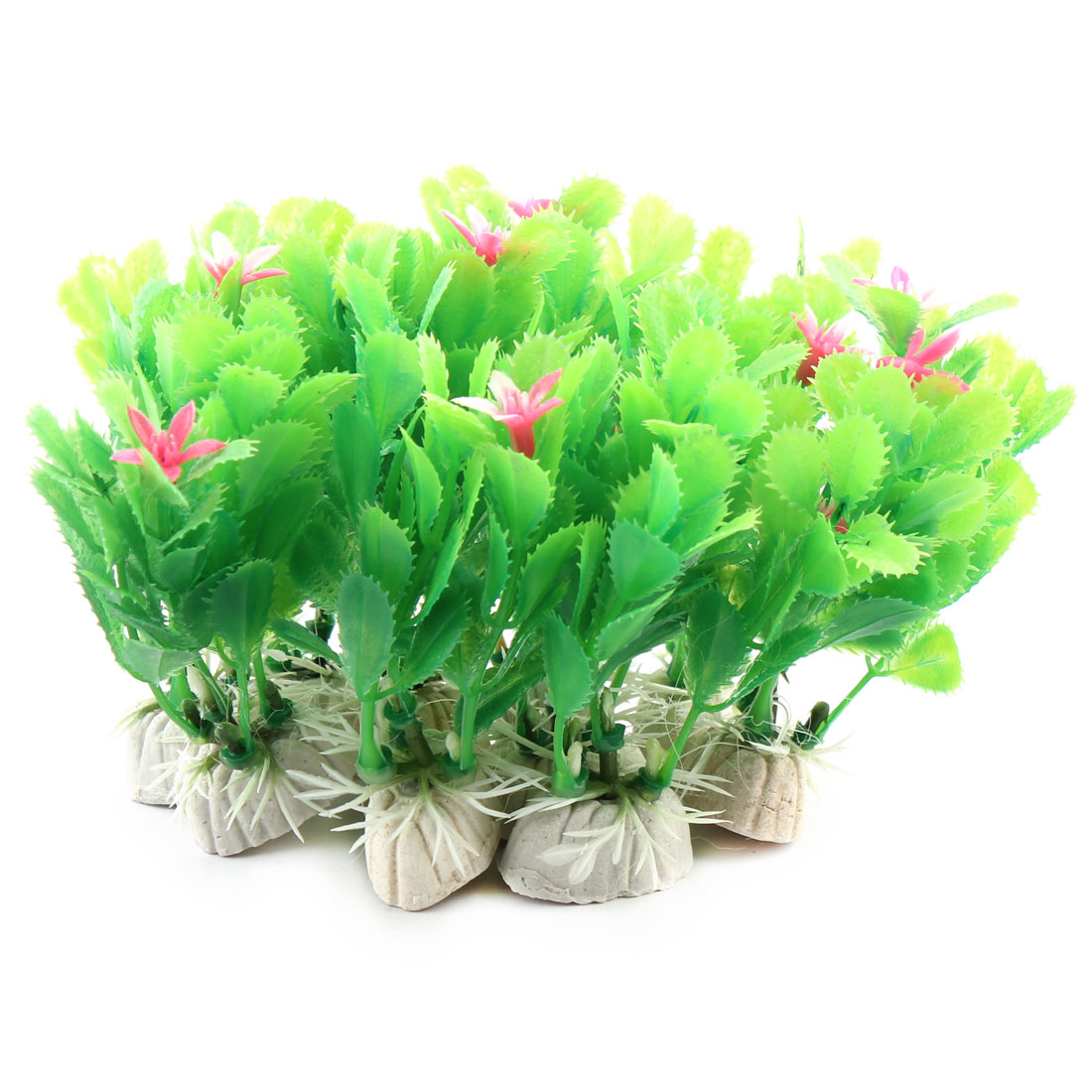 10 PCS Green Fish Tank Aquarium Plants Grass Ornament