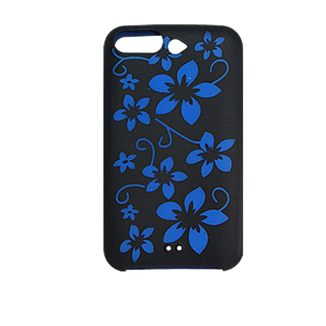 Flower Pattern Silicone Case for iPod Touch 2