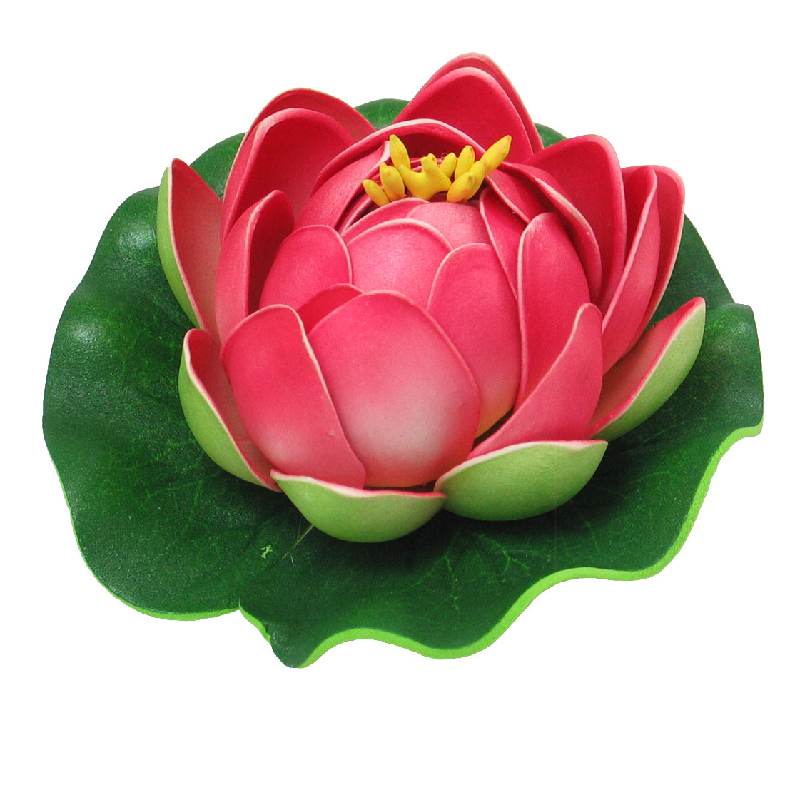 Decoration Aquarium Foam Lotus for Fish Tank