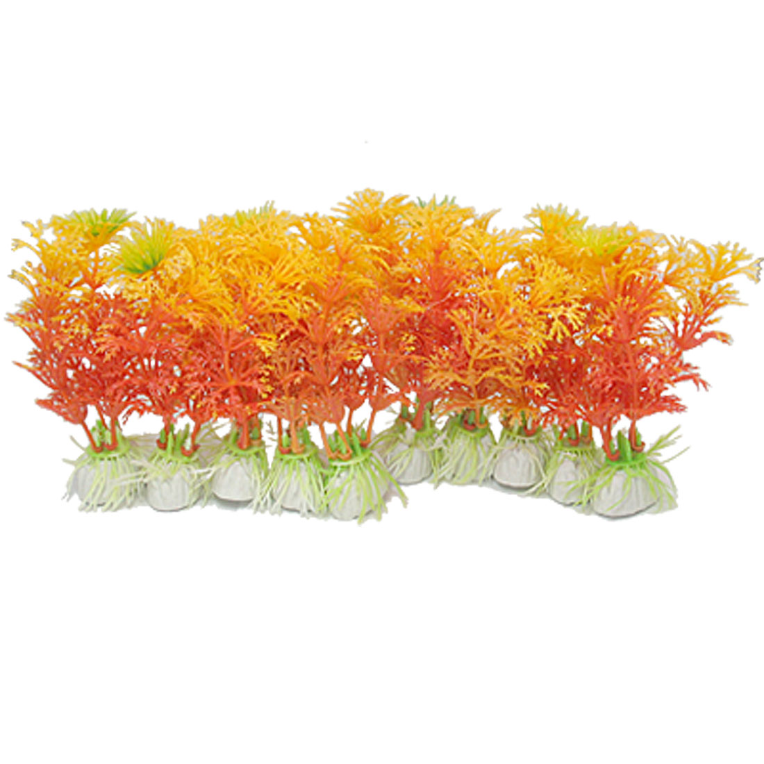 Decoration Aquarium Plants Plastic 10pcs for Fish Tank
