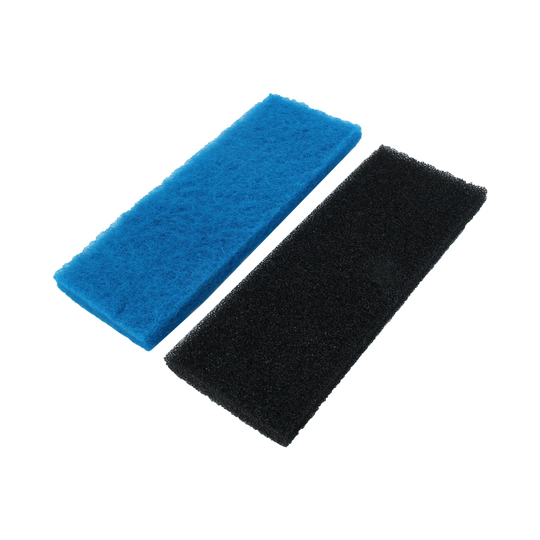 Aquarium Fish Tank Sponge Cotton Biochemical Filter 32cm Length Black Blue