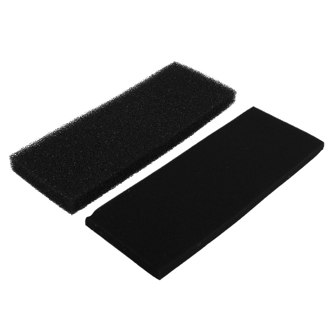 Biochemical Absorbent Sponge Filter Accessory Black 2pcs for Aquarium Fish Tank
