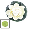 Floating Foam Lotus Green Base Ornament for Aquarium