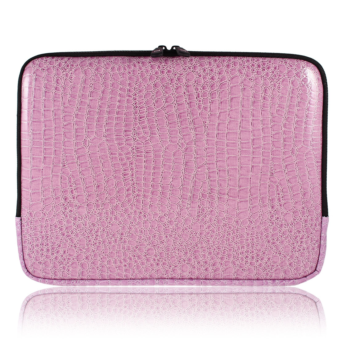 "Snake Pattern 12.1"" Laptop Sleeve Case Notebook Lilac Bag"