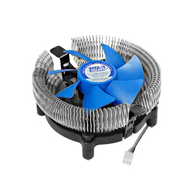PC Computer Aluminum CPU Heatsink Cooling Fan Cooler for Intel AMD