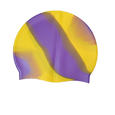 Adults Flexible Soft Swim Cap Silicone Swimming Hat