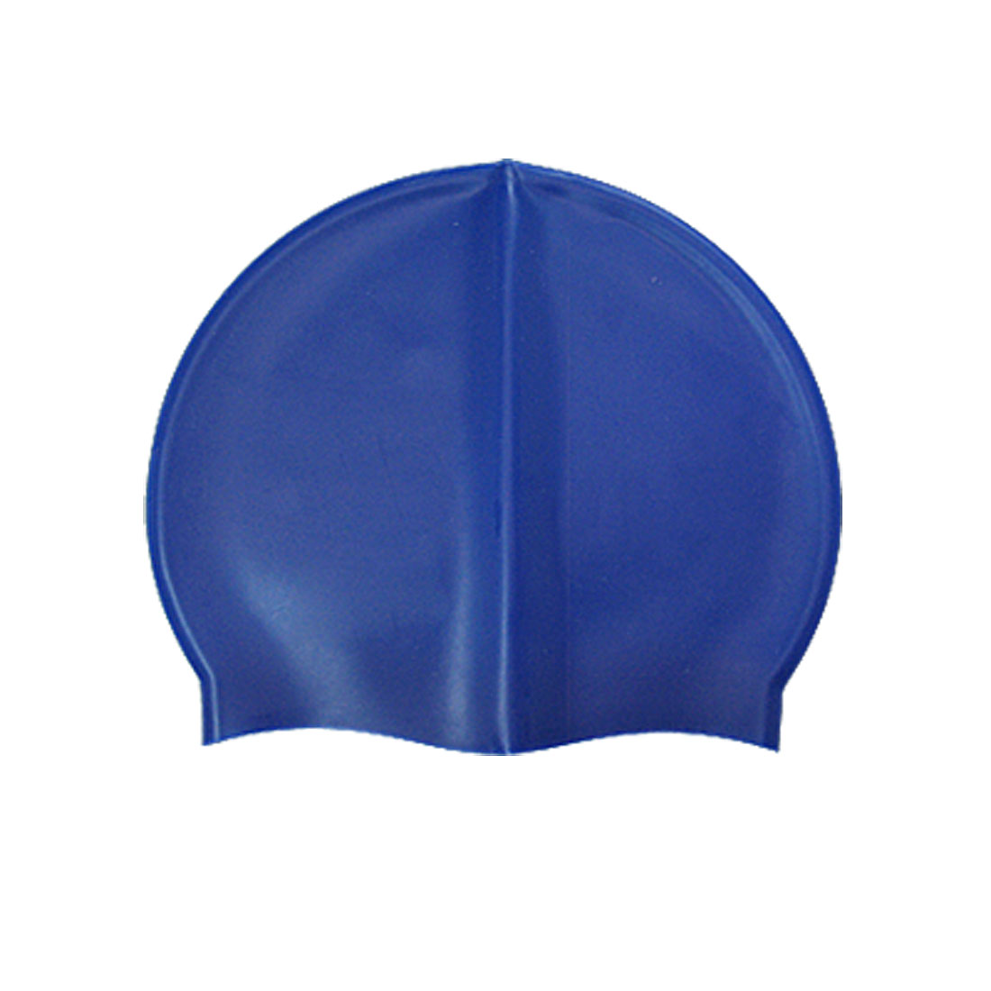 Adults Blue Nonslip Swimming Hat Siclicone Swim Cap