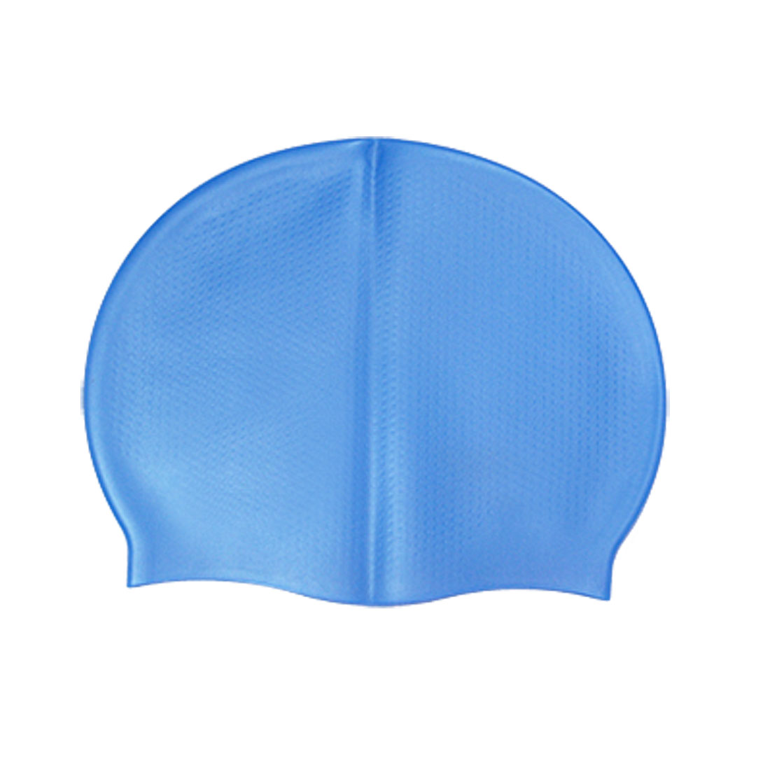 Sky Blue Swimming Pool Swim Antislip Silicone Skin Cap