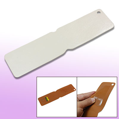 White Brown Faux Leather Phone Case Cover for iPhone 3G 3GS