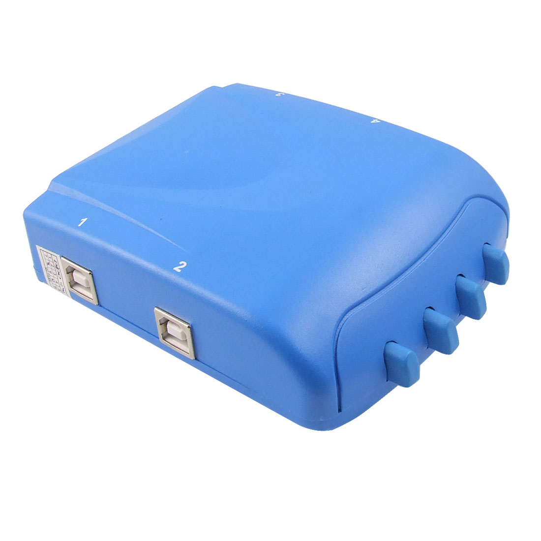 4 Ports USB B Type Input to USB A Output Sharing Switch Hub