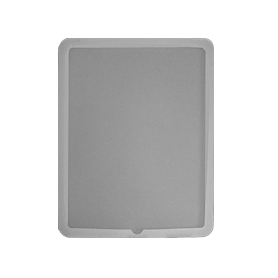 White Protective Protector Silicone Skin Case for Apple iPad 1