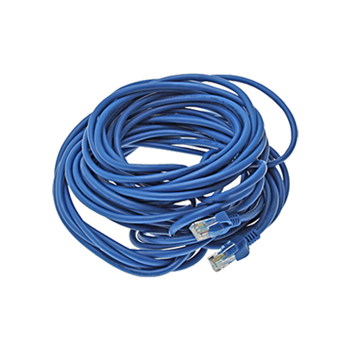28.7 ft Feet 8.7M RJ45 CAT5E LAN Network Cable Blue for Ethernet Router Switch