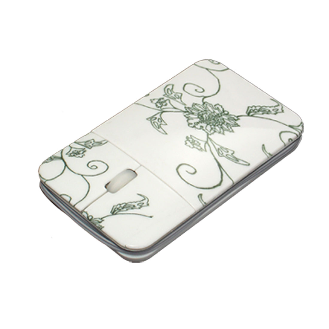 Flower Laptop PC Computer 3D USB Slim Optical Mouse with Cord Wrap