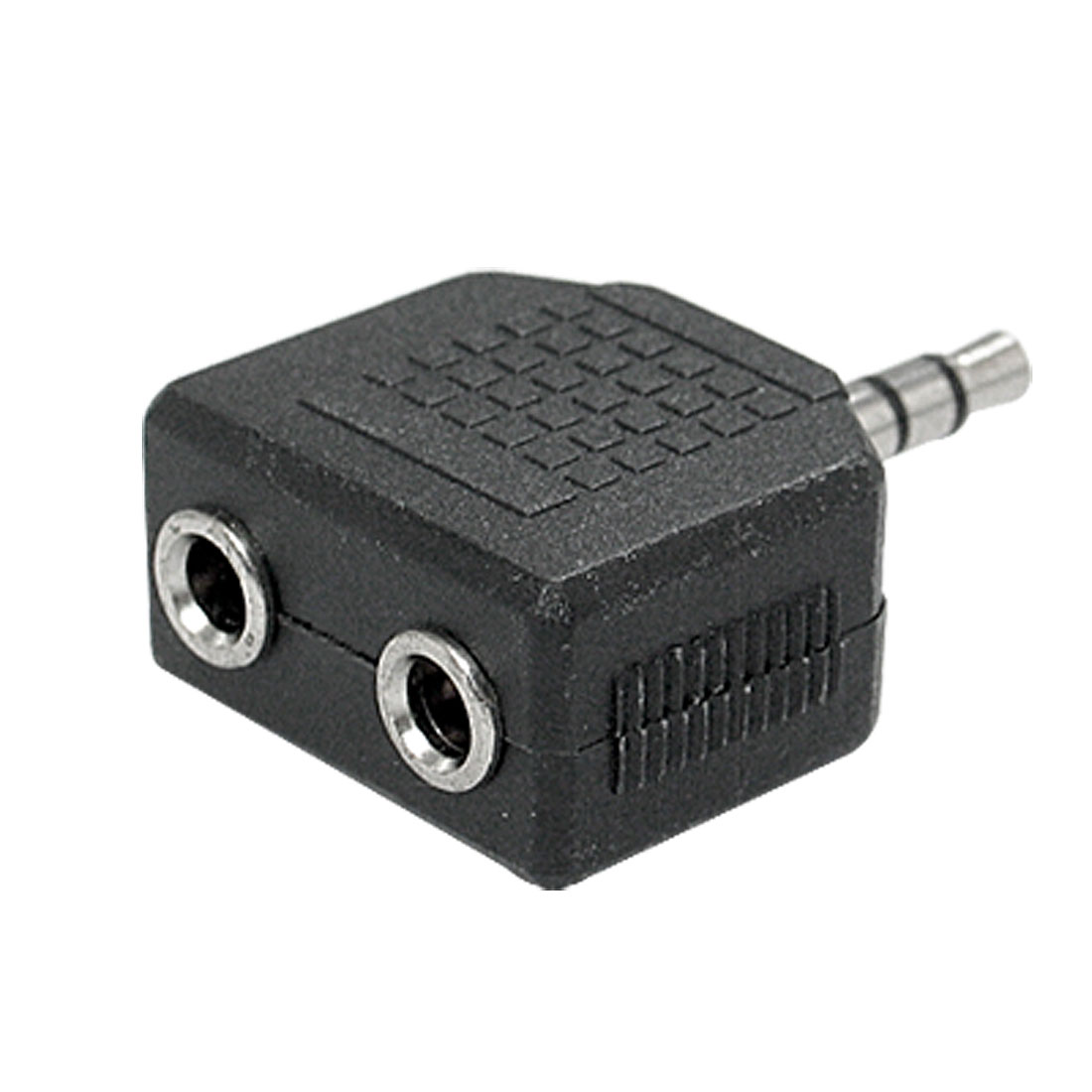 1 Male to 2 Female 3.5mm Audio Converter Connector Adapter