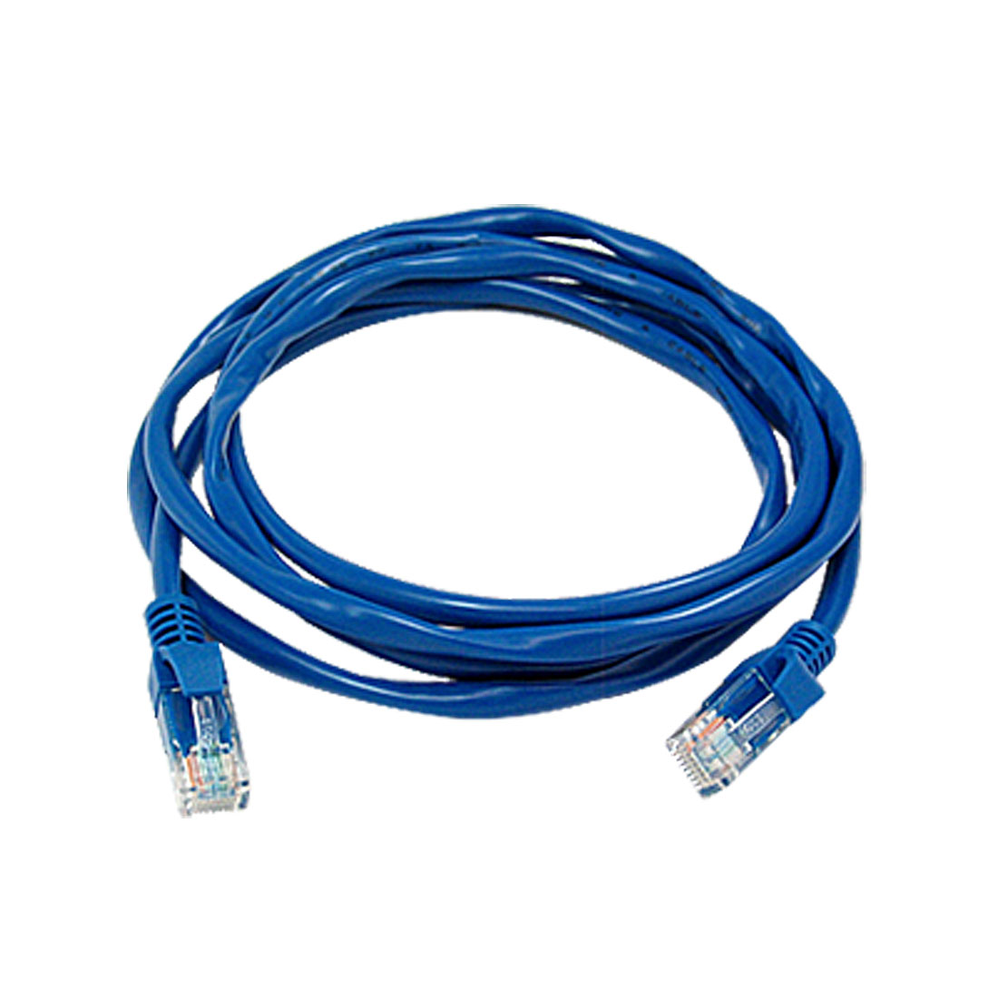 6 ft Feet 1.8M RJ45 CAT5 CAT 5 LAN Network Cable Blue for Ethernet Router Switch