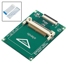 "CF Card to 1.8"" ZIF CE PC Computer Compact Adapter"
