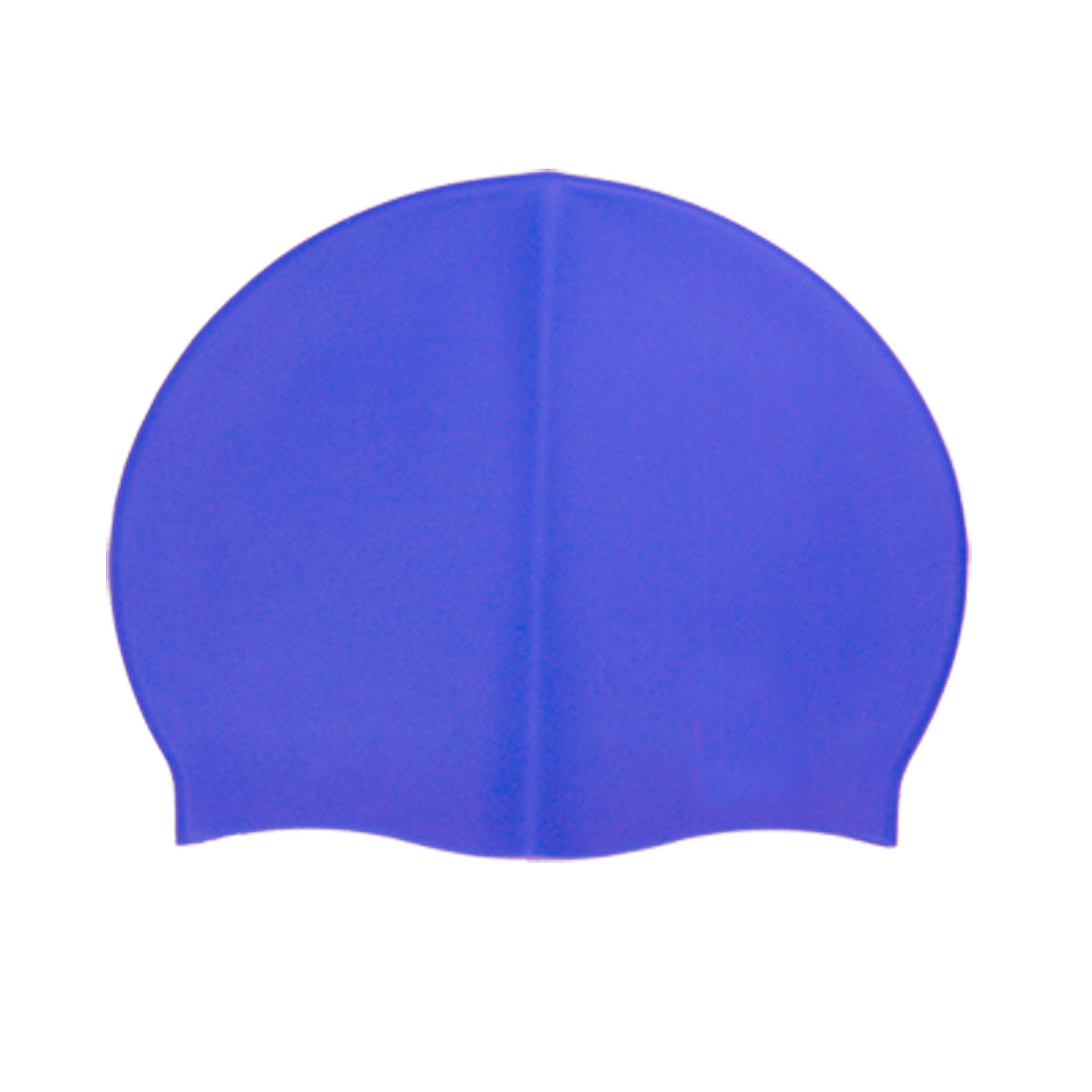 Blue Flexible Silicone Swimming Cap Swim Hat for Swimmer