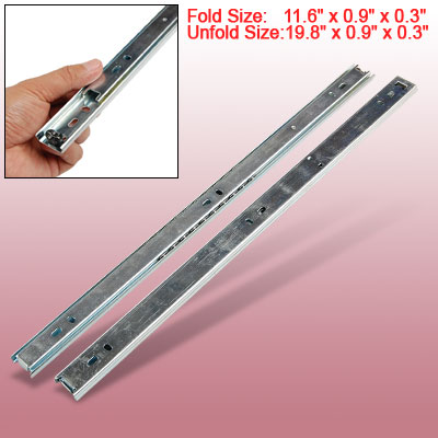 Sliding Side Mount Ball Bearing Drawer Guides