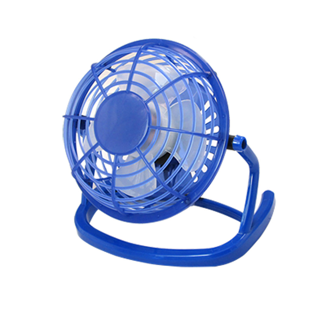 Blue Free Angle USB Plastic Laptop Desktop Cooler Cooling Fan