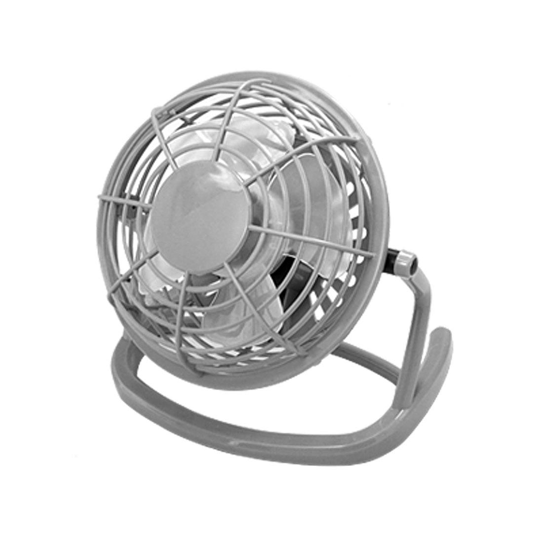 Four Free Angle USB Plastic Laptop Desktop Cooler Cooling Fan