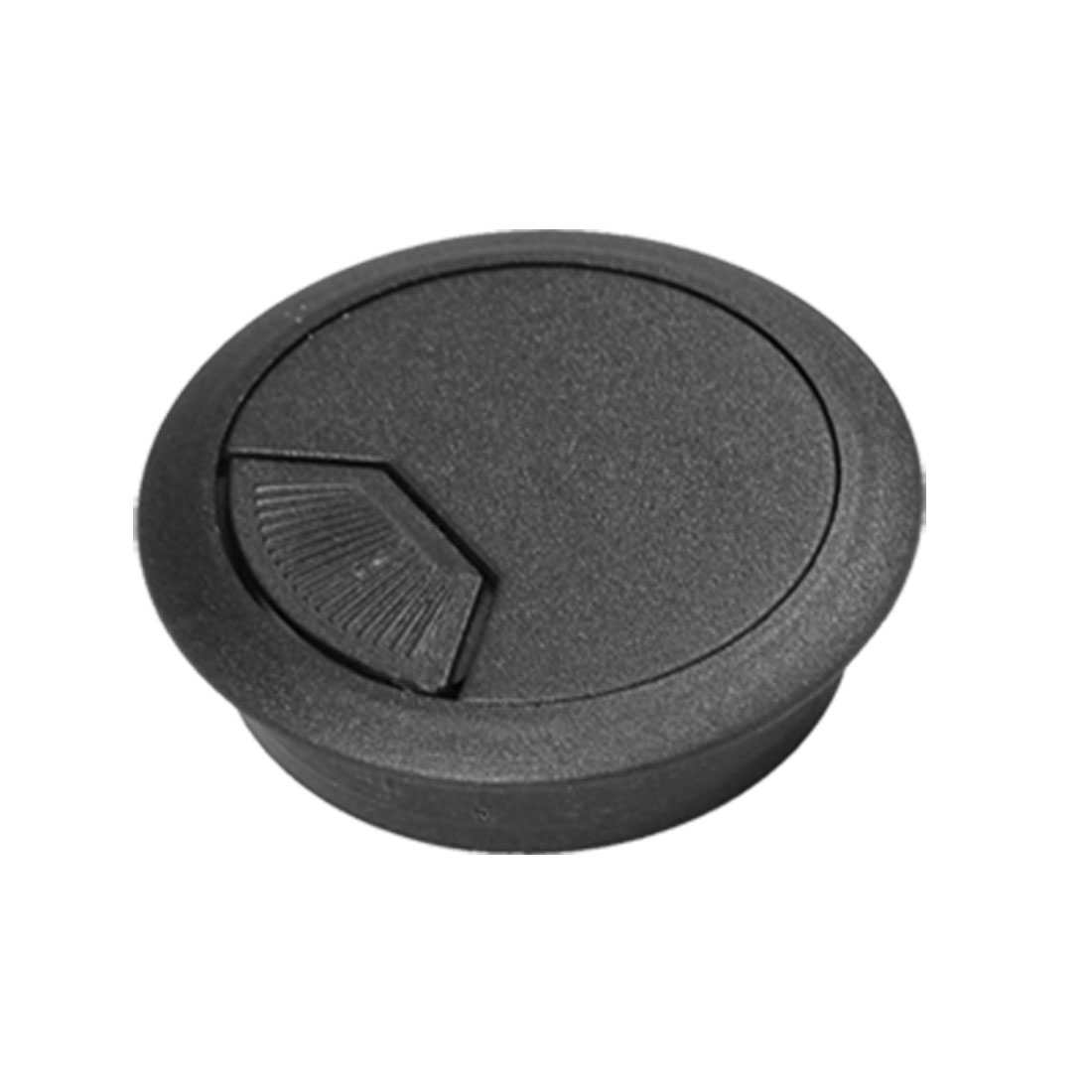 Grommet Cable Hole Cover Black for Computer Desk Table