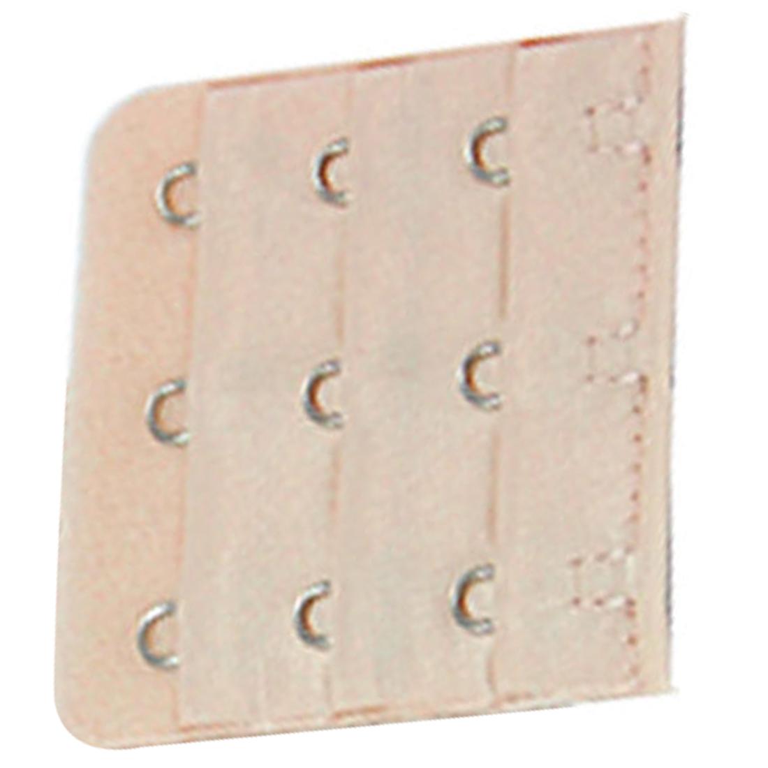 5 Pcs Wheat Bra Soft Extender 3x3 Hooks Extenders Strap