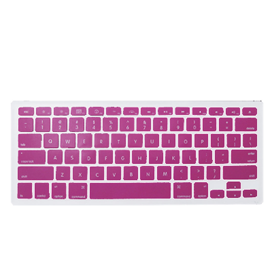 Hot Pink Silicone Keyboard Skin Protector for MacBook 13.3""