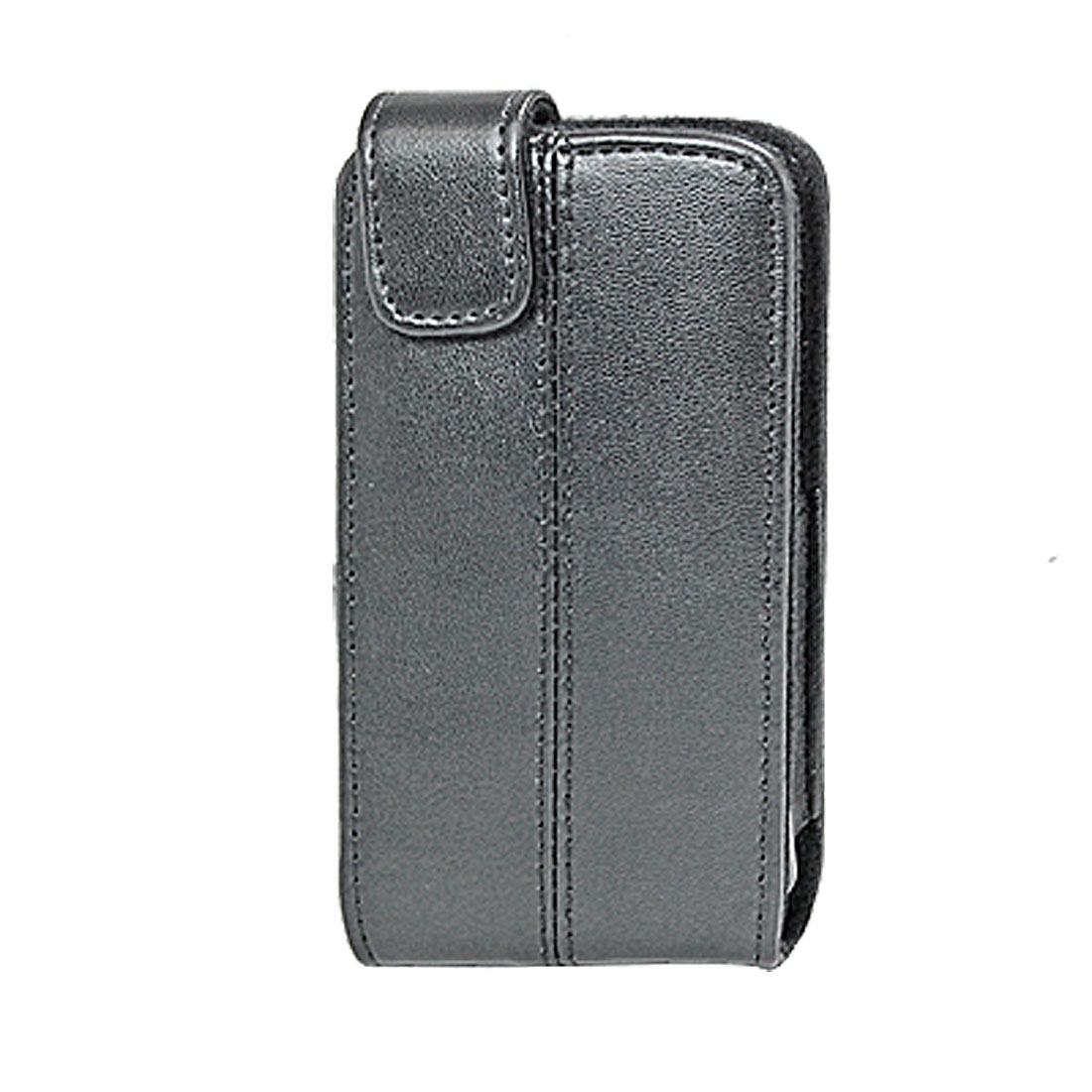 Black Faux Leather Case Cover Pouch for Apple iPhone 3G