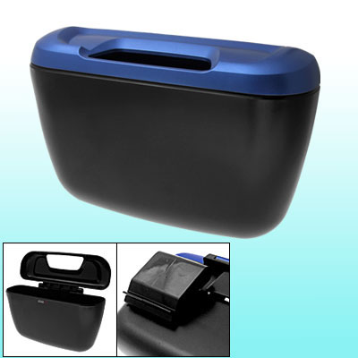 Black Blue Plastic Car Auto Vehicle Grocery Container Box