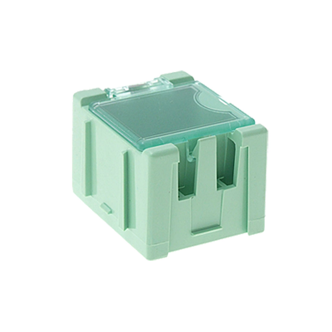 Portable Green Mini Components Storage Case Enclosure Box