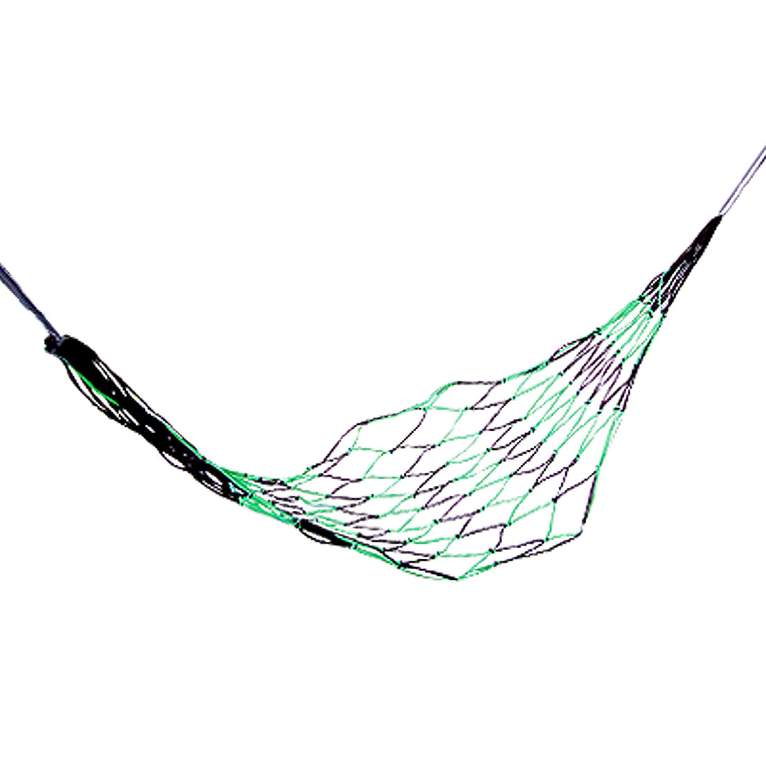 Green Black Nylon Meshy Netty Travel Hammock Bed