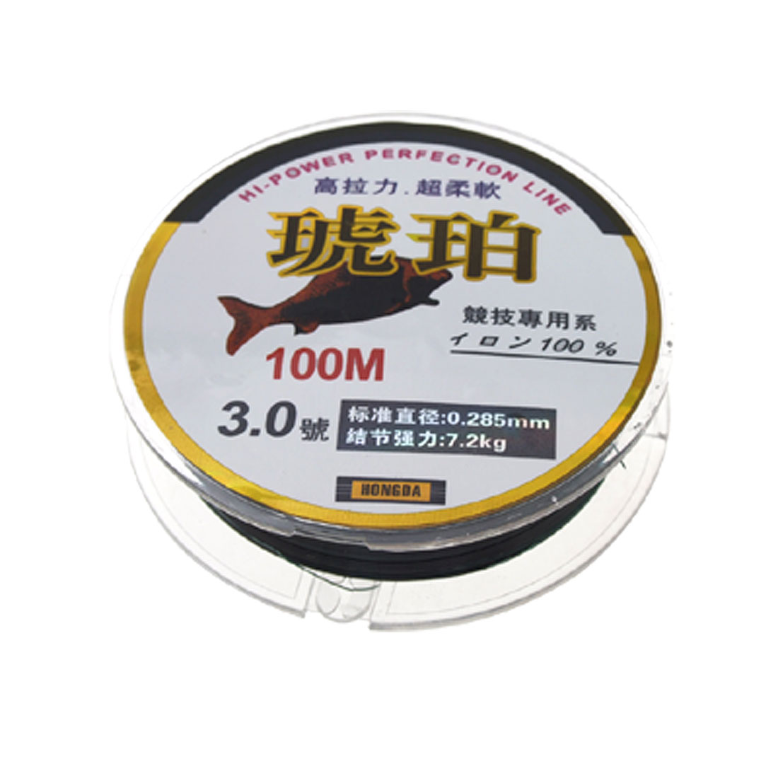 Soft Strong 100m Fishing Spool Line for Competition