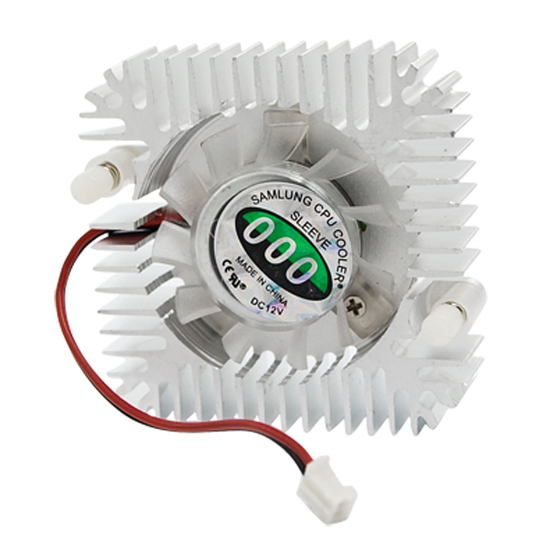 Computer VGA Video Card Cooler Cooling Fan Alloy Heatsink 2 Pin DC 12V