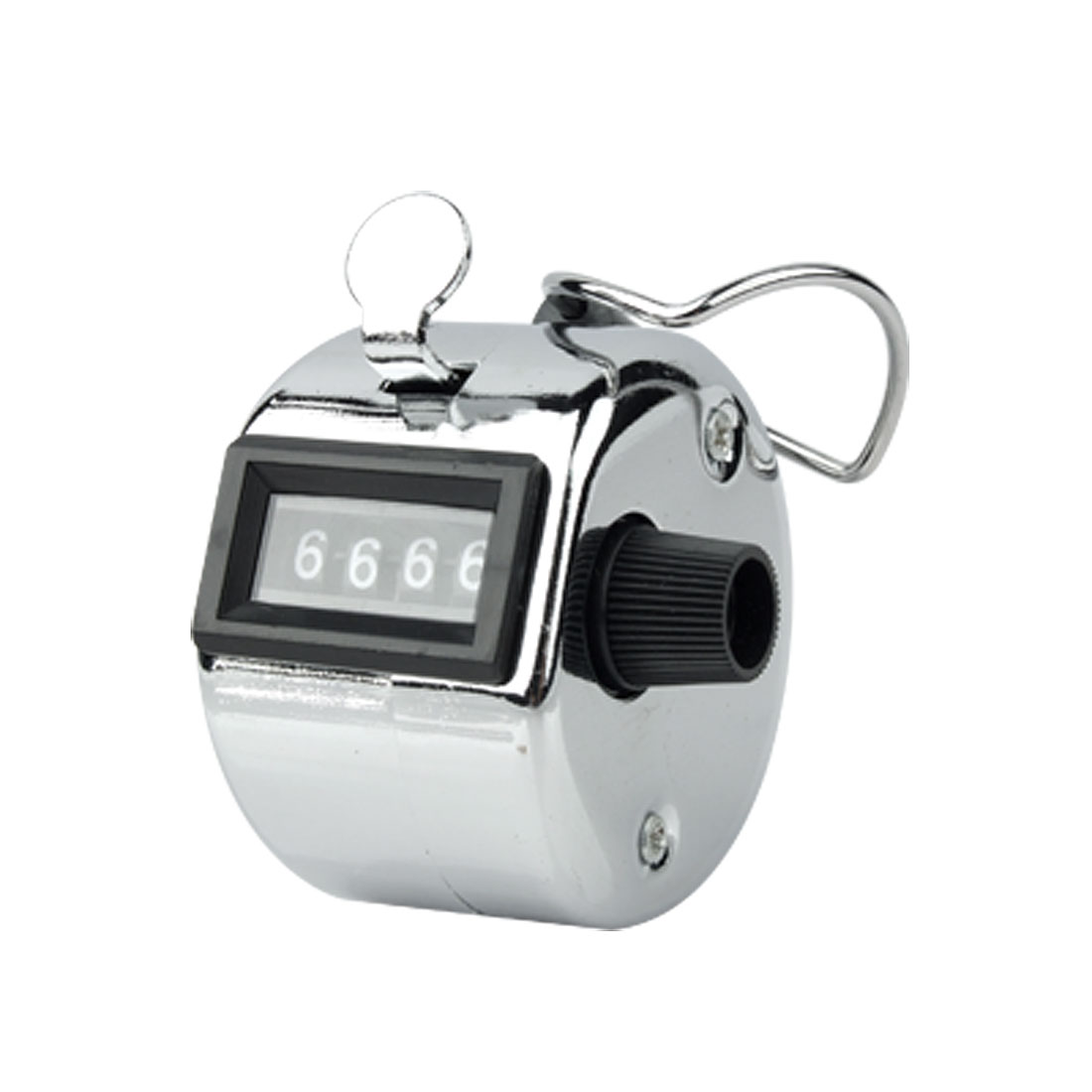 Stainless Steel Manual Hand Held Tally Counter with 4 Digits