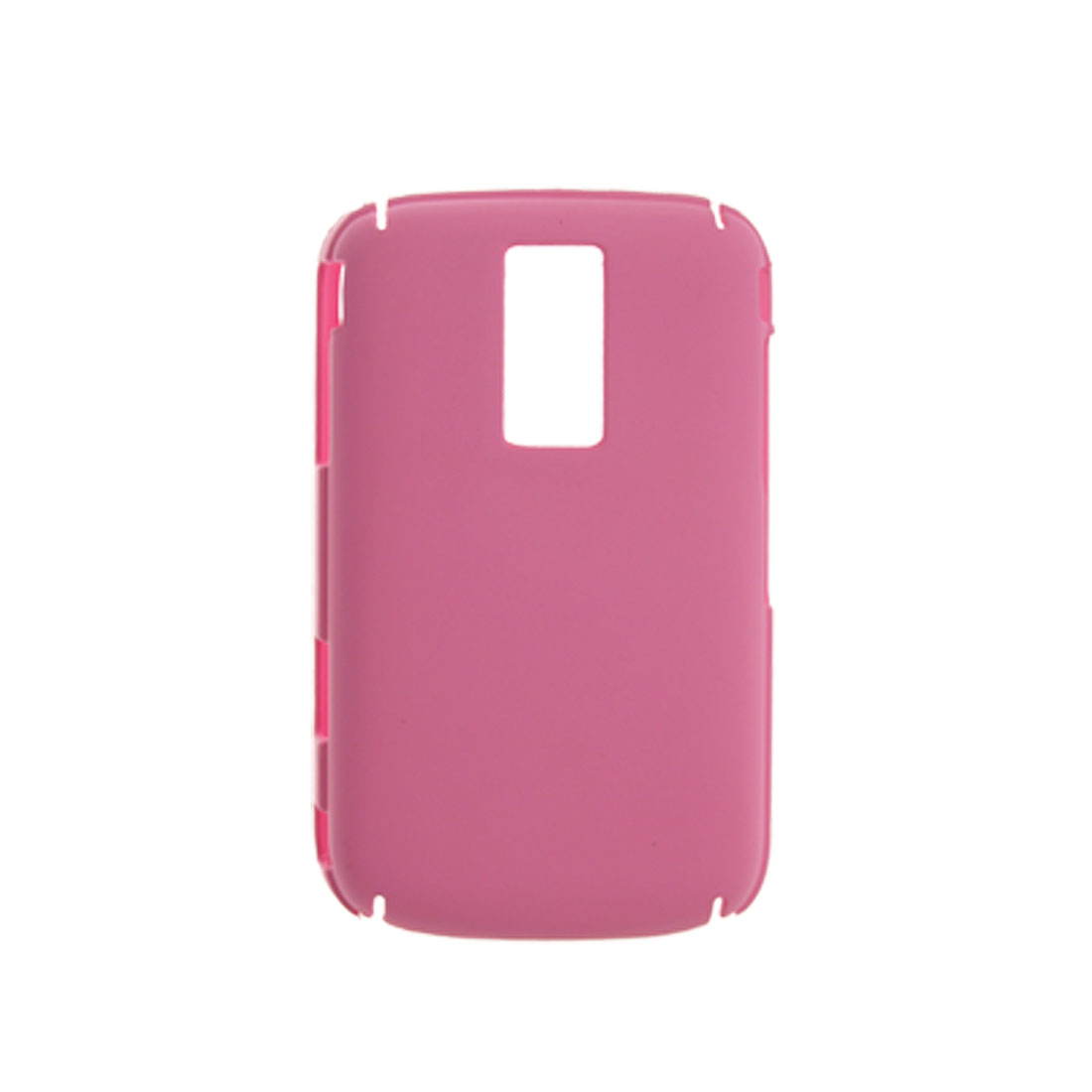 Pink Hard Plastic Back Case Screen Guard for Blackberry 9000