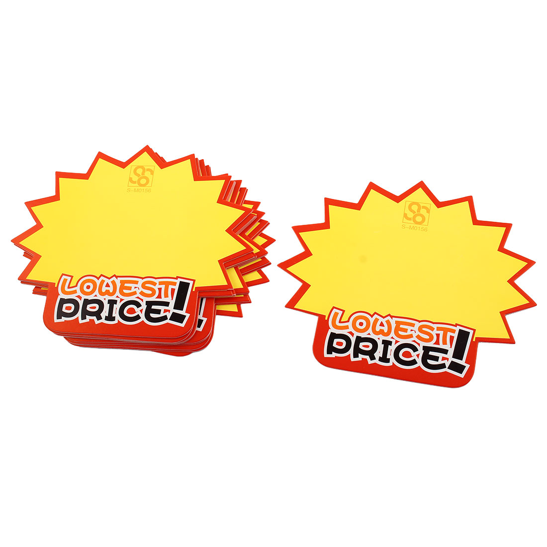 Lowest Price Advertising Paper Sale Sign POP Small Card