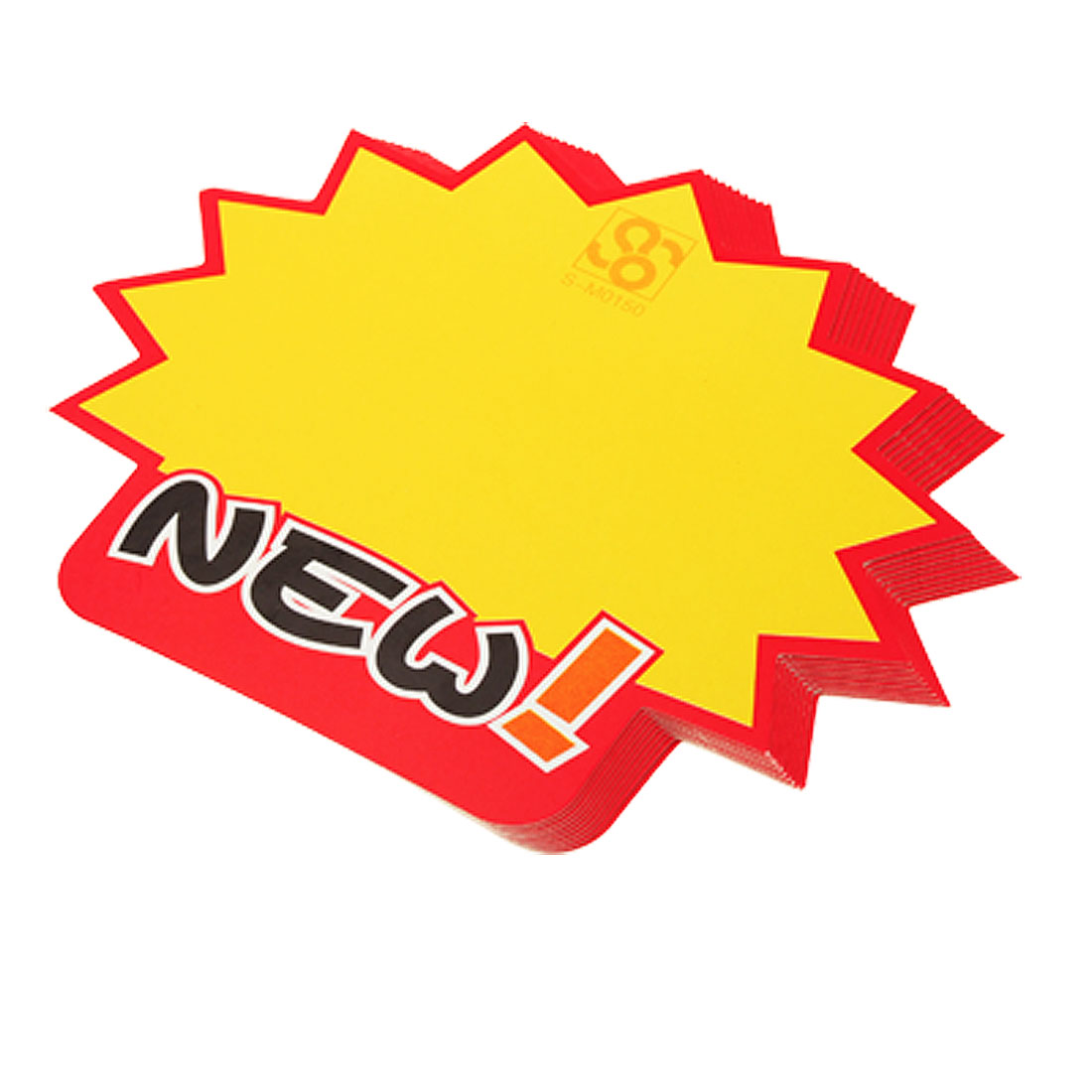 Shopping Advertising Paper Sale Sign Price POP Card