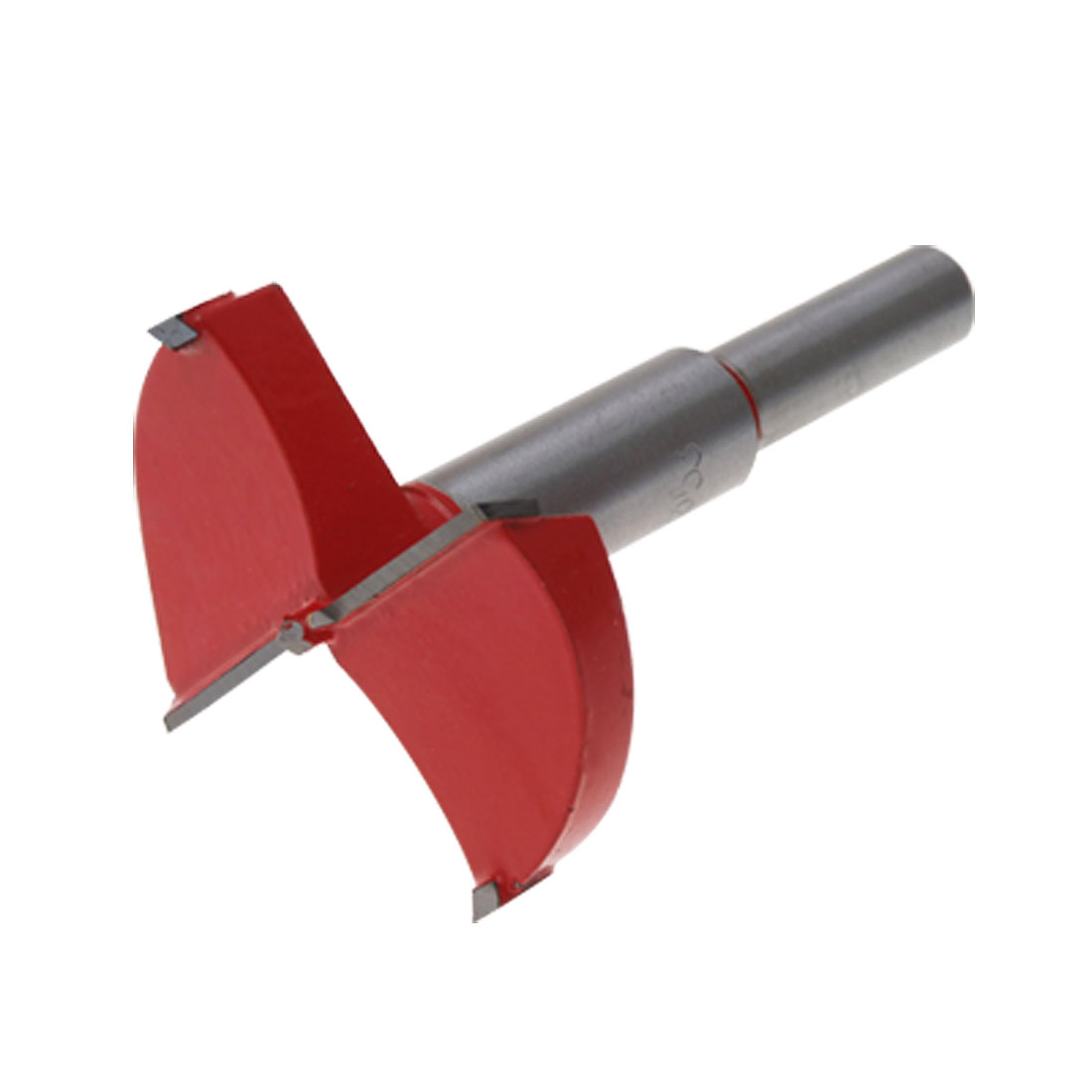 Red Metal 53MM Woodworking Forstner Bit Wood Boring Tool