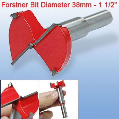"1-1/2"" Woodworking Forstner Bit 38mm Wood Boring Set"
