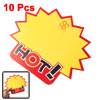 10 PCS Big Sales Advertising Paper Price Sign POP Cards
