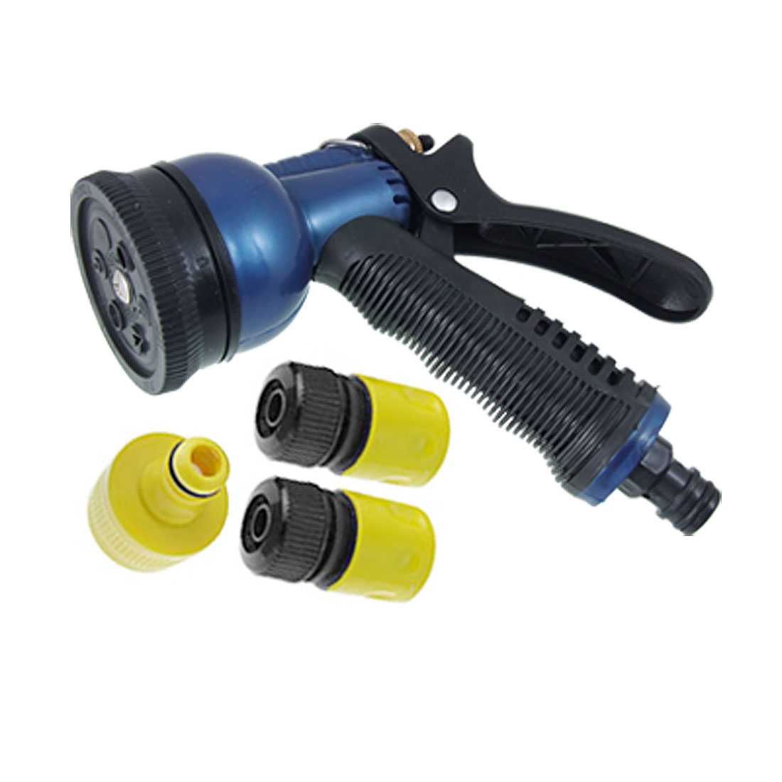 Yard Lawn Water Spray Washer Plastic Combo Hose Nozzle